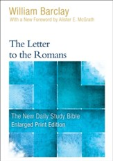 The Letter to the Romans, Large-Print Edition