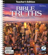 BJU Press Bible Truths Level F with  CD-ROM (Grade 12)