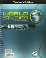 BJU World Studies Teacher's Edition  Grade 7 with CD-ROM  Third Edition
