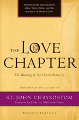 The Love Chapter: The Meaning of First Corinthians 13 - eBook