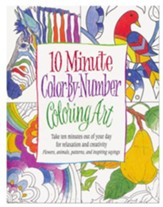 10-Minute, Color by Number Coloring Art