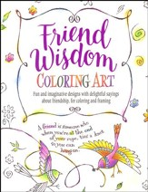 Friend Wisdom Coloring Art