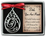 Dad, Filigree Tear Ornament