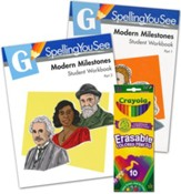 Spelling You See Level G: Modern Milestones Student Pack