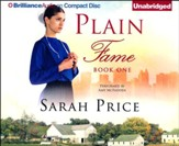 #1: Plain Fame - unabridged audio book on CD
