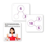 Number-Bonds Activity Cards: Multiplication/Division, Grades 3-5