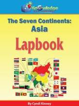 The Seven Continents: Asia Lapbook -  PDF Download [Download]