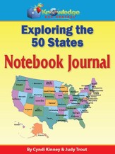 Exploring the 50 States Notebook Journal - PDF Download [Download]