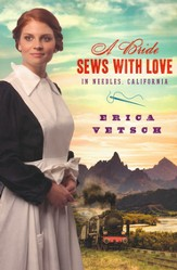 A Bride Sews with Love in Needles, California
