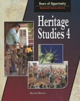 BJU Heritage Studies Grade 4, Student Text (Updated Copyright)