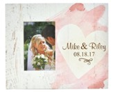 Personalized, Photo Frame Box, 4X6, Heart