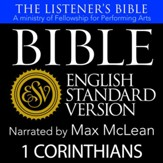 The Listener's Bible (ESV): 1 Corinthians [Download]
