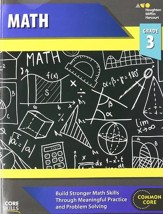 Steck-Vaughn Core Skills Math Workbook Grade 3