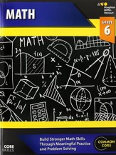 Steck-Vaughn Core Skills Math Workbook Grade 6