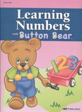 Abeka Learning Numbers with Button  Bear