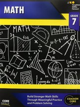 Steck-Vaughn Core Skills Math Workbook Grade 7