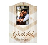 Personalized, Chevron Clipboard, Grateful