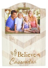 Personalized, Photo Clipboard, Believe, Chevron