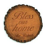 Personalized, Barky Magnet, Bless Our Home, Round