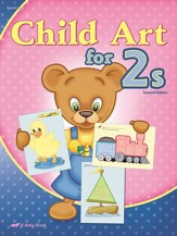 Abeka Child Art for 2's, Second Edition