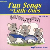 Abeka Fun Songs for Little Ones 2s & 3s Audio CD