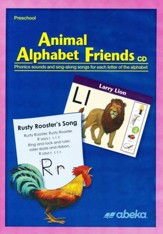 Abeka Animal Alphabet Friends Audio CD