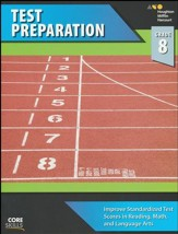 Steck-Vaughn Core Skills Test Preparation Workbook Grade 8
