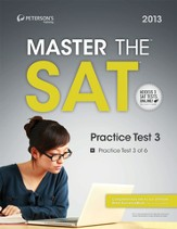 Master the SAT: Practice Test 3: Prac Tes 3 of 6 - eBook