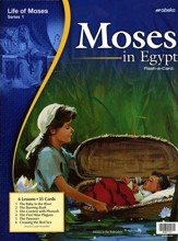 Abeka Moses in Egypt Flash-a-Card