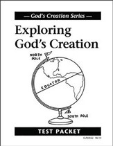 Exploring God's Creation Test, Grade 3