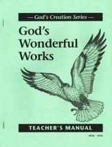 God's Wonderful Works Teacher's Manual, Grade 2