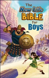 The New Life Bible for Boys, Trade Paper - Slightly Imperfect