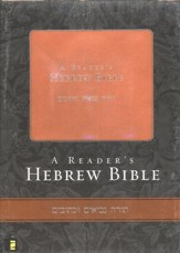 A Reader's Hebrew Bible - Italian Duo-Tone, Tan