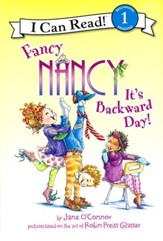 Fancy Nancy: It's Backward Day!, hardcover