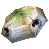 She Who Kneels Before God Umbrella