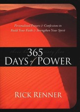 365 Days of Power: Personalized Prayers and Confessions to Build Your Faith and Strengthen Your Spirit - eBook