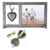 Those We Love Don't Walk Away, Memorial Photo Frame