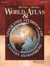 Abeka World Atlas & Geography Studies: Eastern Hemisphere  Teacher Key