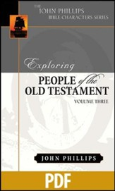 Exploring People of the Old Testament, Vol. 3 - PDF Download [Download]