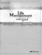 Abeka Life Management under God  Quizzes/Tests
