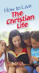 How to Live the Christian Life Tracts, 50 pk