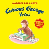 Curious George Votes, softcover