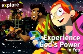 Experience God's Power in You, Explore Kid's Discipleship   Student Book 3