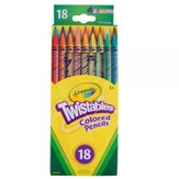 Crayola, Twistables Colored Pencils, 18 Pieces