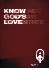 Know God's Love, Faith - Book 1