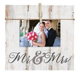 Mr. & Mrs., Photo Clipboard