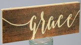 Grace, Stick Plaque, Small