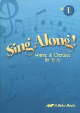 Abeka Sing Along! Volume 1 Audio CD