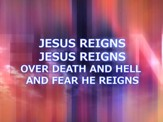 Jesus Reigns - Lyric Video SD [Music Download]