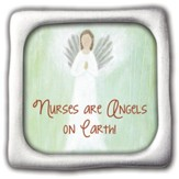 Nurses Are Angels, Square Magnet